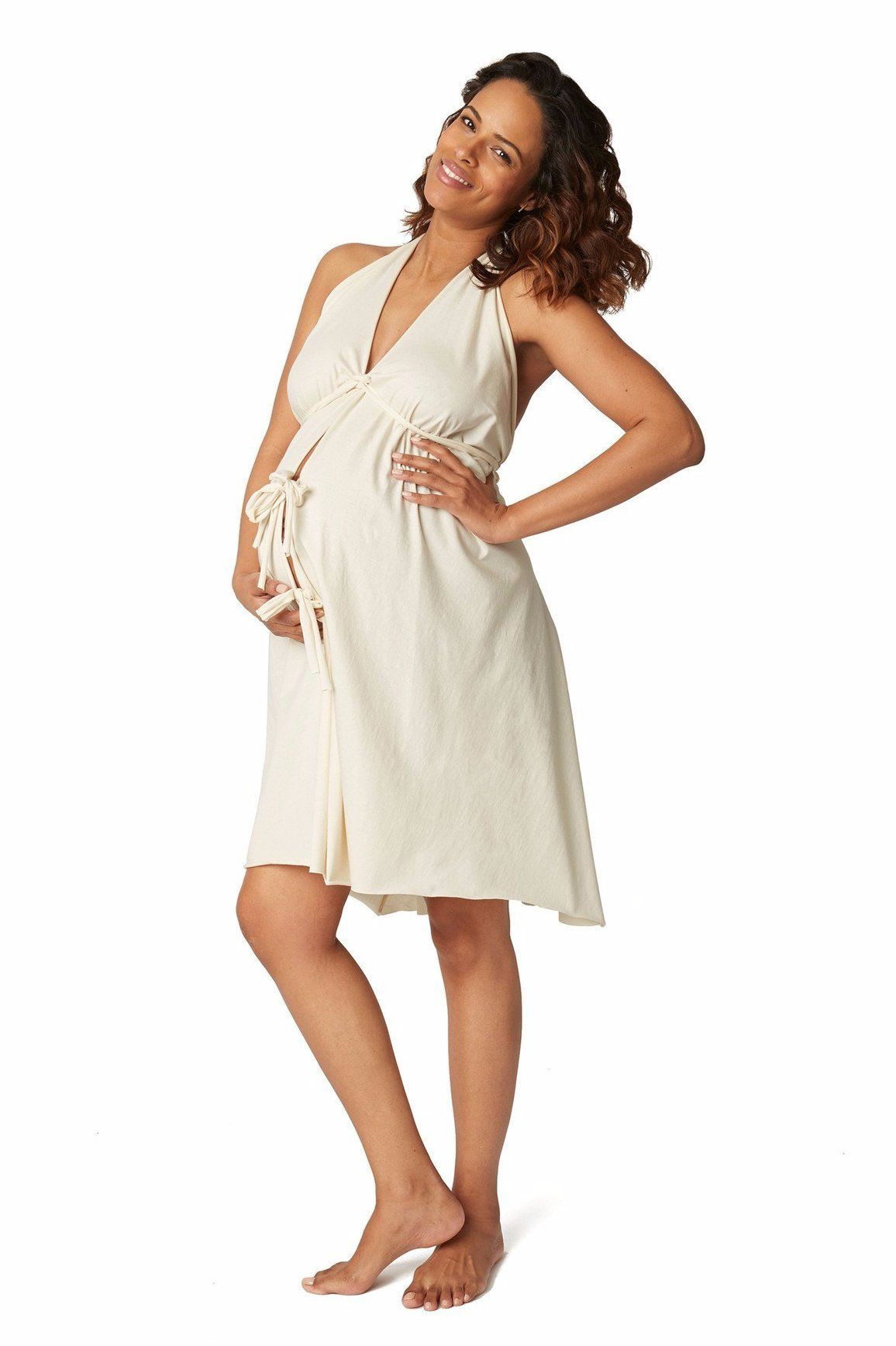 Original Labor & Delivery Gowns - Unbleached Cream / One Size (2-16 ...