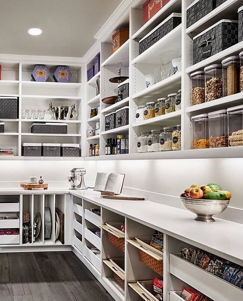 My Dream Pantry Tag A Friend Who Would Love This Too Via Inspire Me Home Decor Homedesign Design Room Kitchen