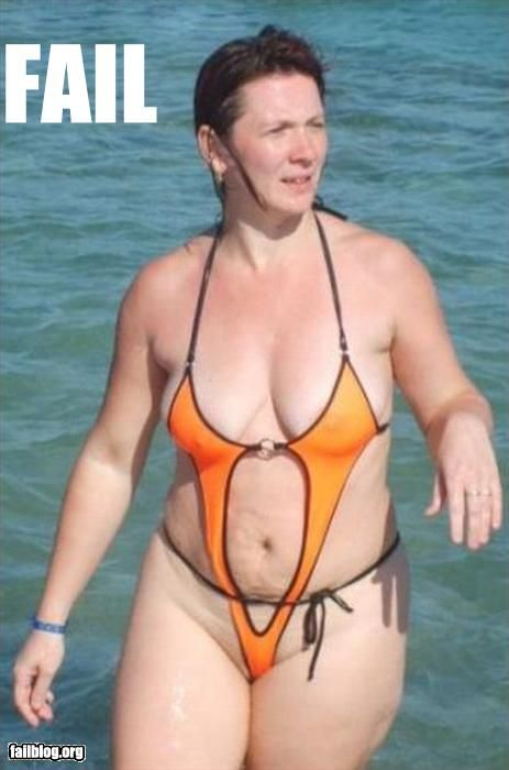 Pitiful The Epic Fail Bathing Suit Just Weird Funny People