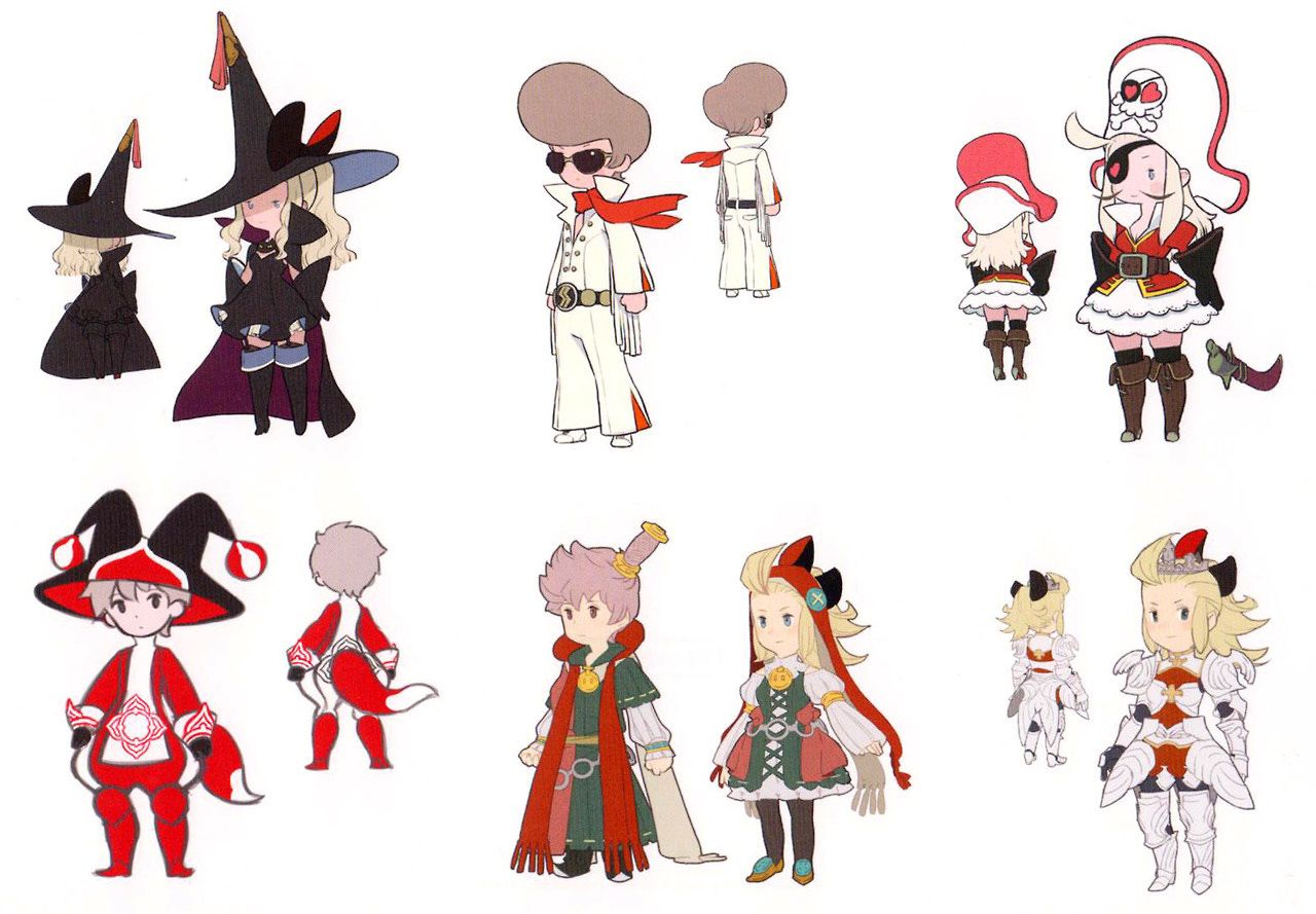 bravely default classes - Google Search