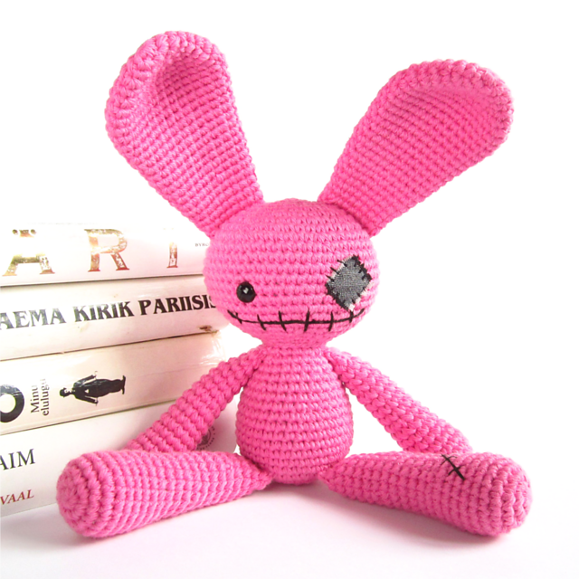 Ravelry Zombie Bunny Cute Undead Rabbit Amigurumi Soft Toy