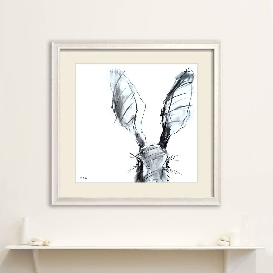 Are You Interested In Our Hare Painting Art Print With Our