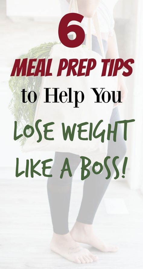 Meal Prep For Weight Loss - Organize Yourself Skin