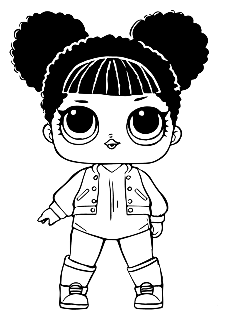 Lol Dolls Coloring Pictures Free Hoops Mvp Lol Dolls Cartoon Coloring Pages Free Coloring Pages