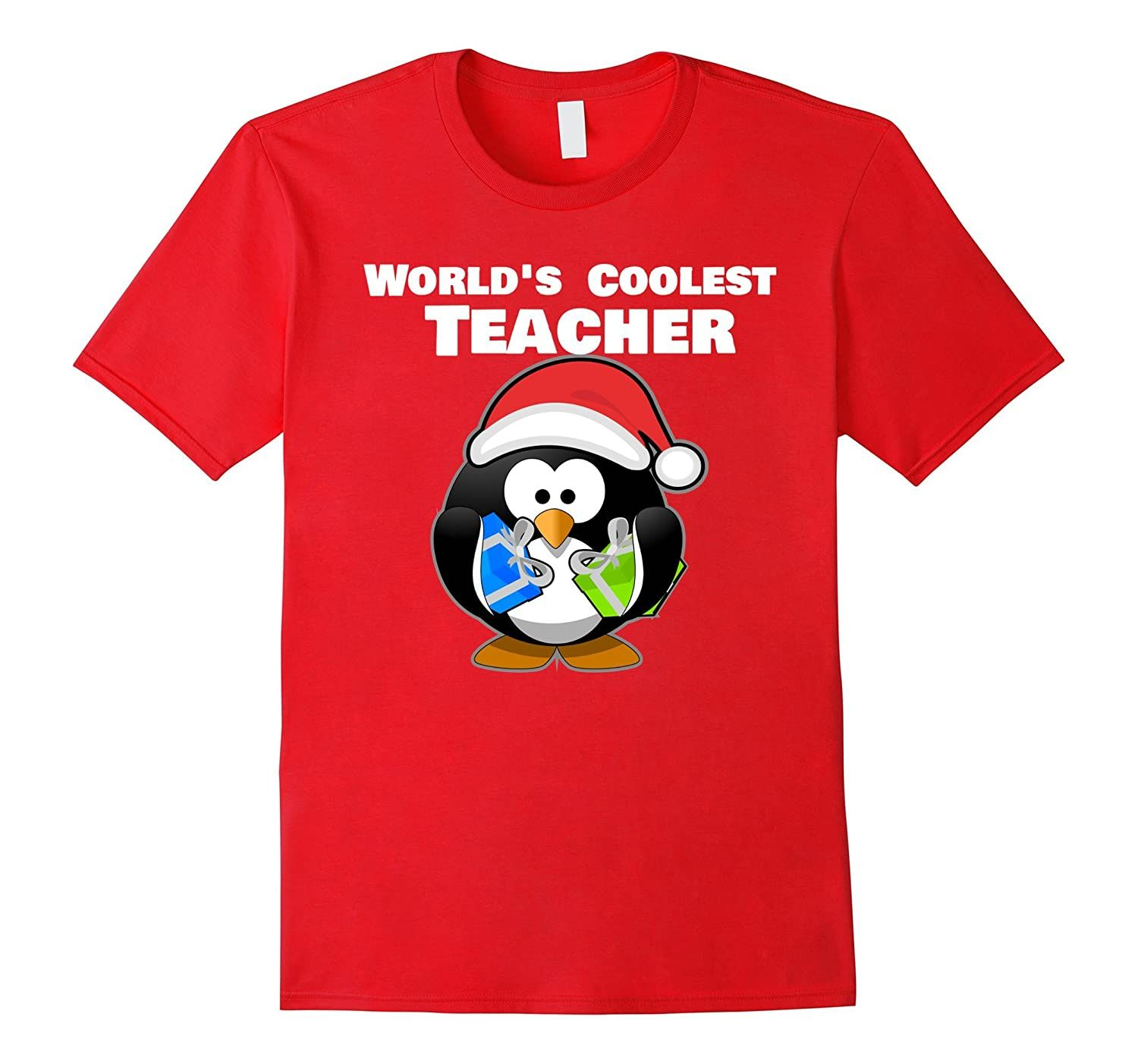 World's Coolest Teacher Shirt Holiday Gift For Teachers