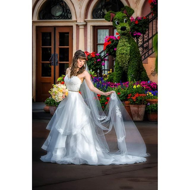 Obsessed With Marissa's Disneyland Wedding! She Looked