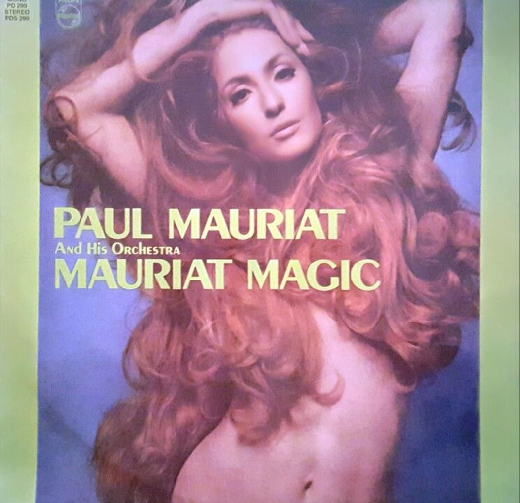 Paul Mauriat Mauriat Magic Philips Pds 299 Record