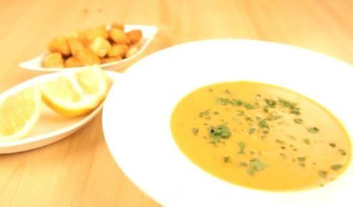 طريقة عمل شوربة العدس Carrot Soup Recipes Recipes Carrot Recipes Food