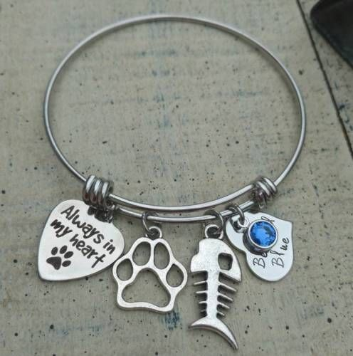 jewelry of listing gift rescuer loss pet death il bracelet memorials memorial rainbow fullxfull bridge sympathy dog