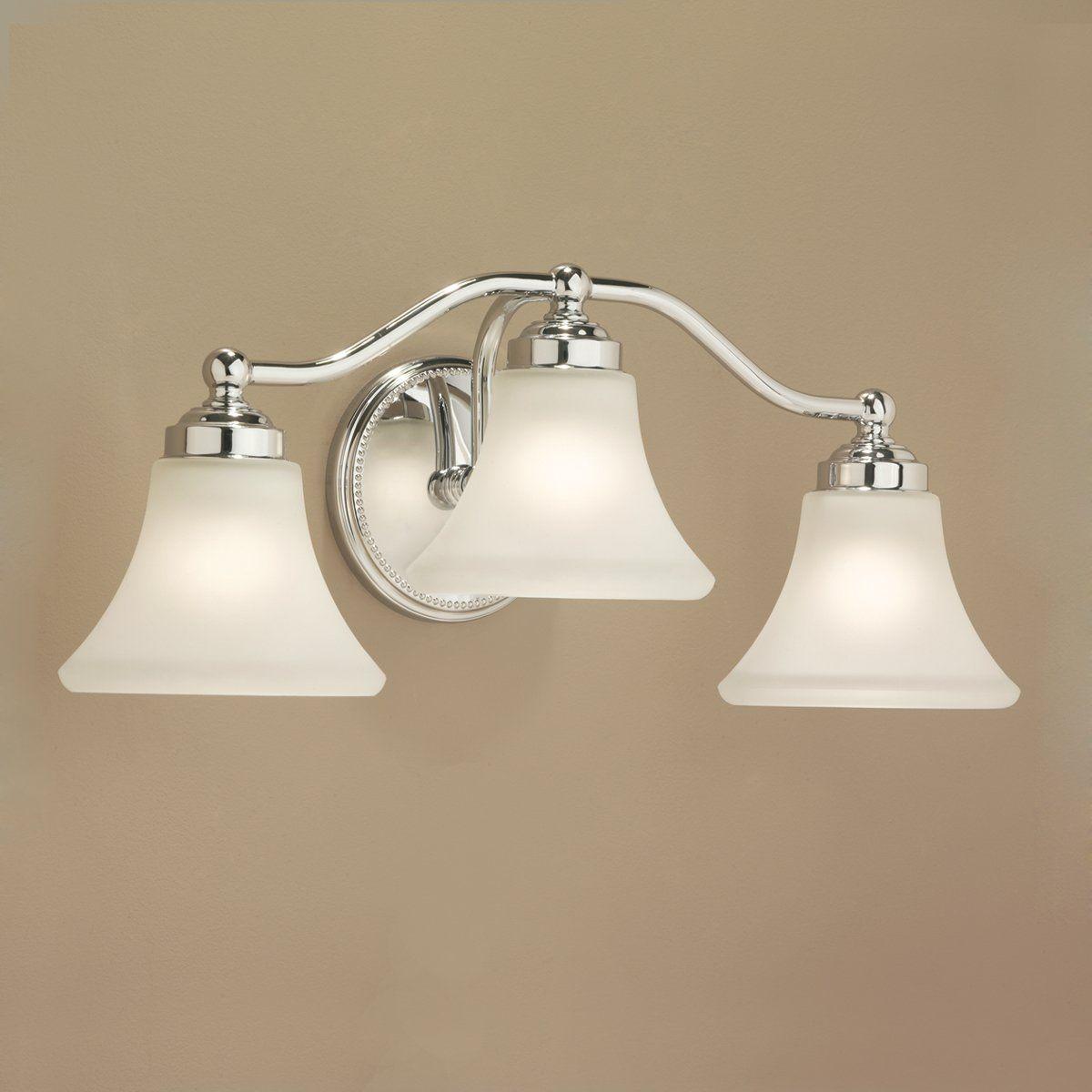 Bathroom Lighting Universe norwell 9663 3 light soleil wall sconce - lighting universe   bath