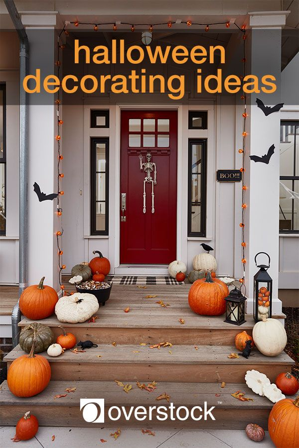 Halloween Decorating Ideas Decorating, Halloween parties and Holidays - decorate house for halloween