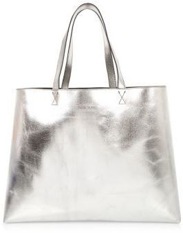 3987944461b River Island Womens Silver shiny reversible beach bag | love Sparkle ...