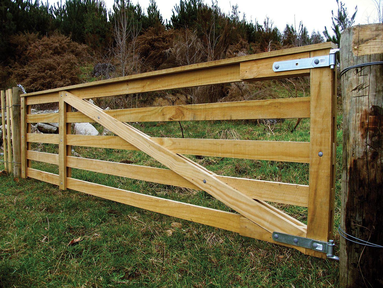 Unique Wood Farm Gate Plans WoodWorking Projects Amp Plans