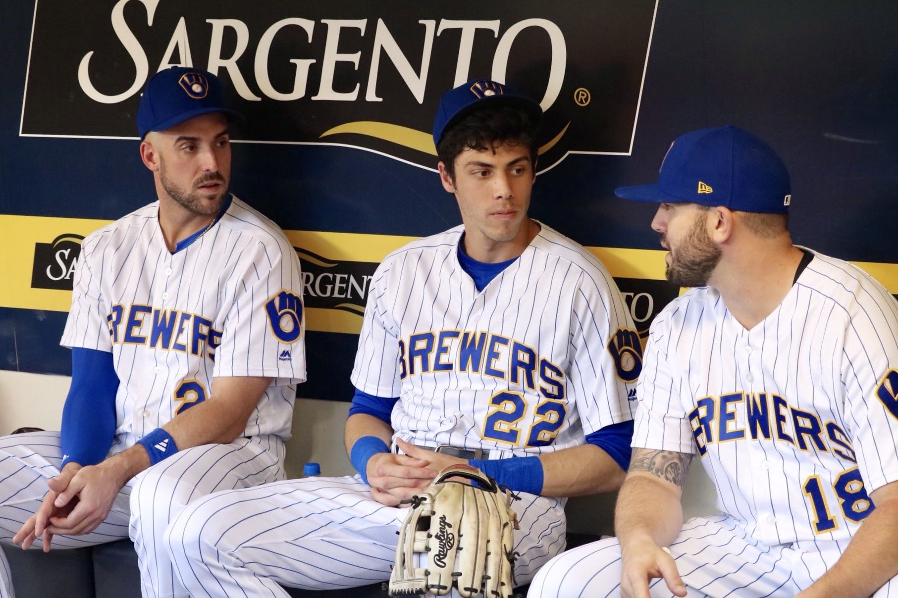 Pin By Amy Ambrose On Christian Yelich The Crew Christian Yelich Dodgers Girl Baseball Boys