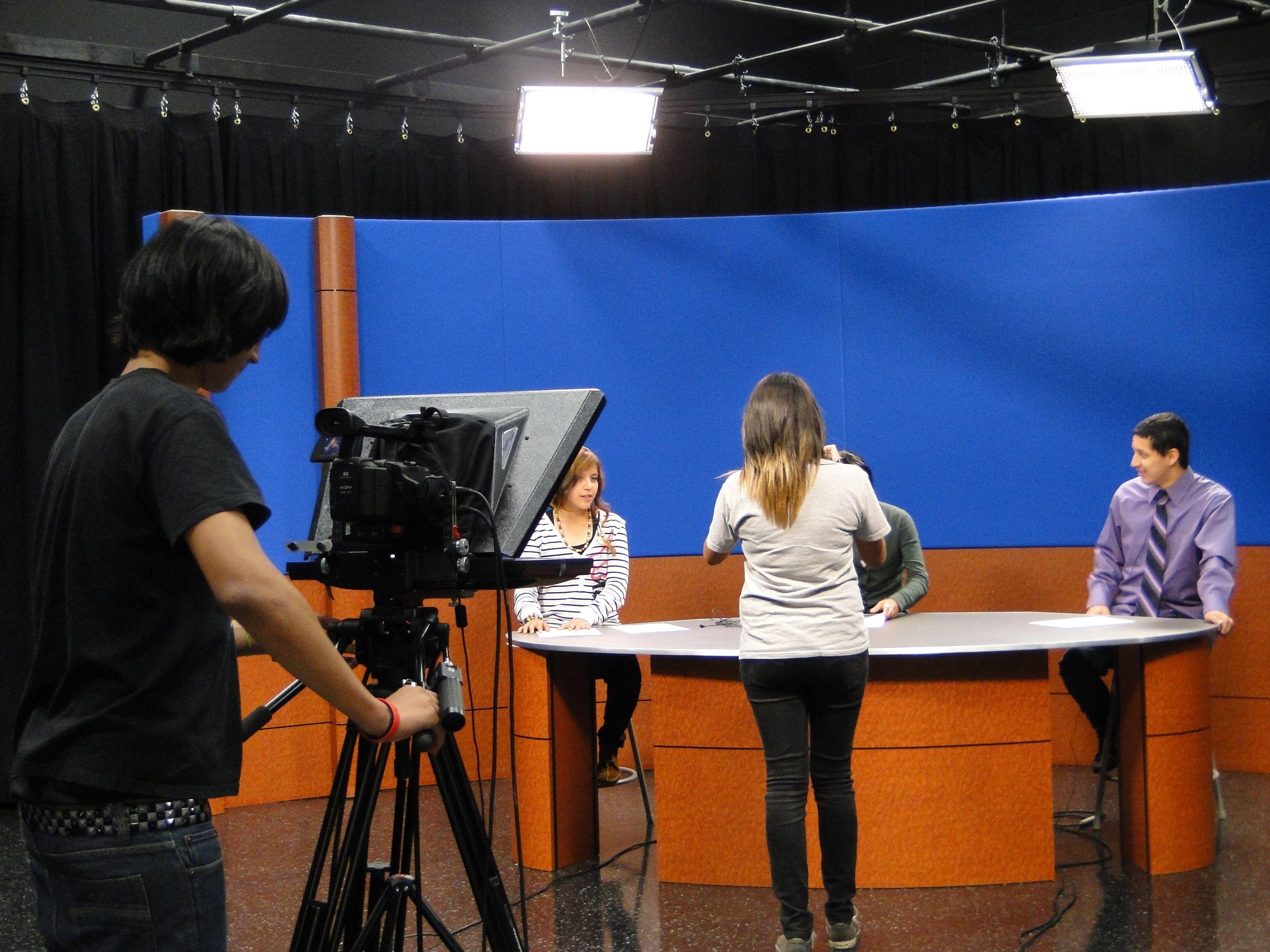 Spartan TV News my Students at Jurupa Hills High School in