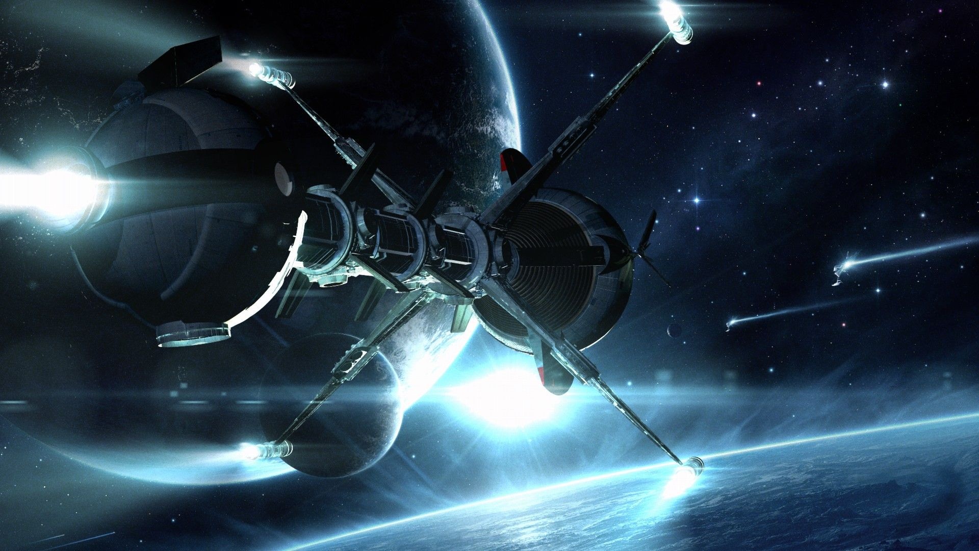 Spaceship Wallpaper 1920X1080 Hd Images 3 HD Wallpapers