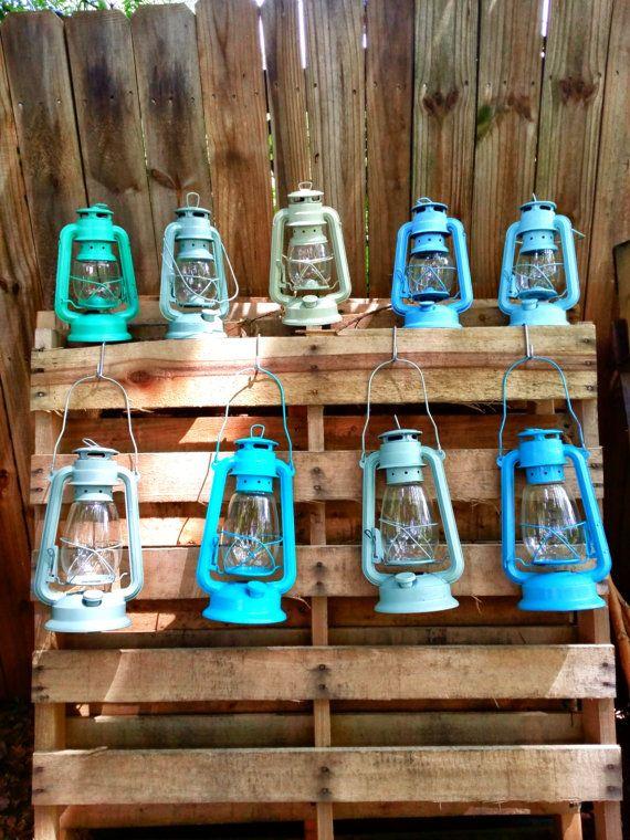 Sale quot rustic railroad lanterns vintage style decor
