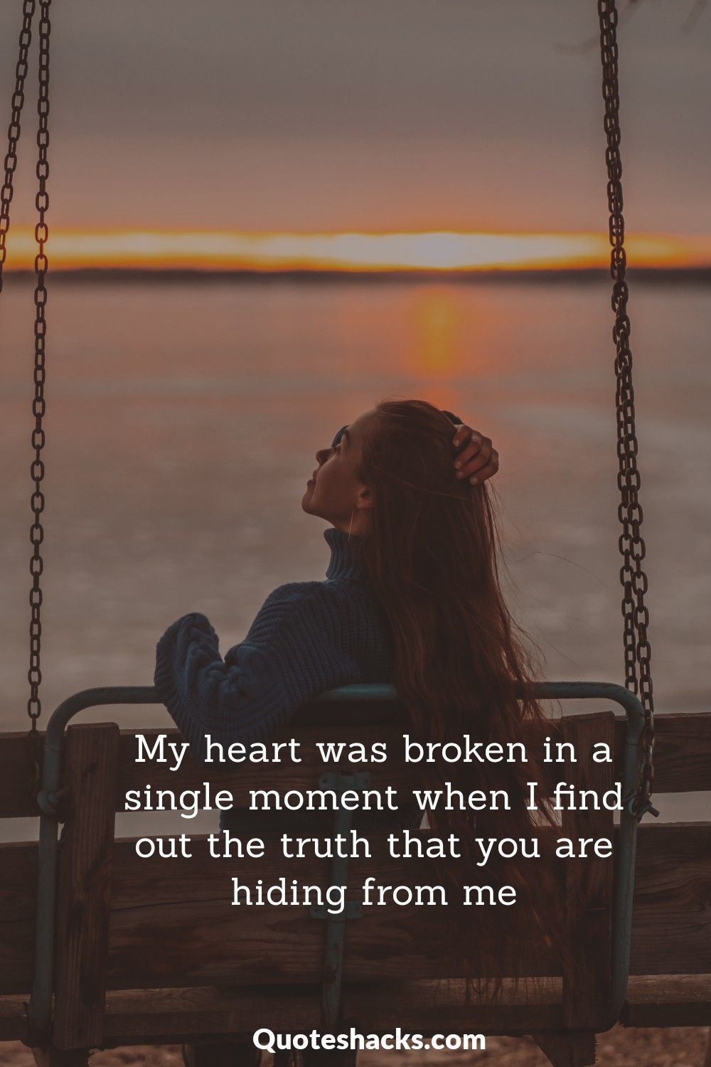 fake love quotes with images