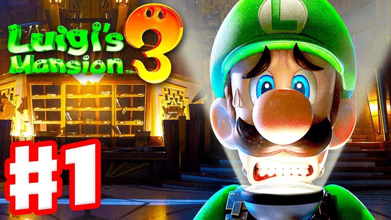 Luigi 39 S Mansion 3 Gameplay Walkthrough Part 1 Welcome To The Last Resort Nintendo S In 2020 Luigi S Mansion Luigi Luigi S Mansion 3