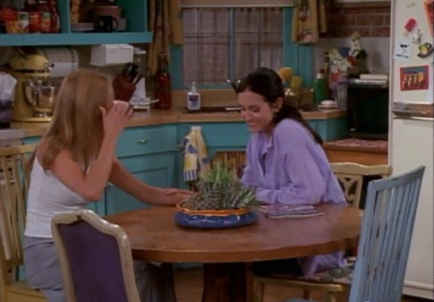 Monica's kitchen #friends