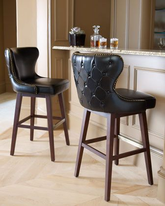 10 Things Every Living Room Needs Visit Our Blog To Know More Bar Stools Traditional Bar Stool Leather Counter Stools