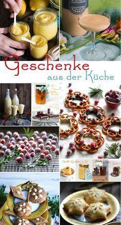 Weihnachtsgeschenke aus der S-Küche - 48 kulinarische Geschenke #holidaydesserts