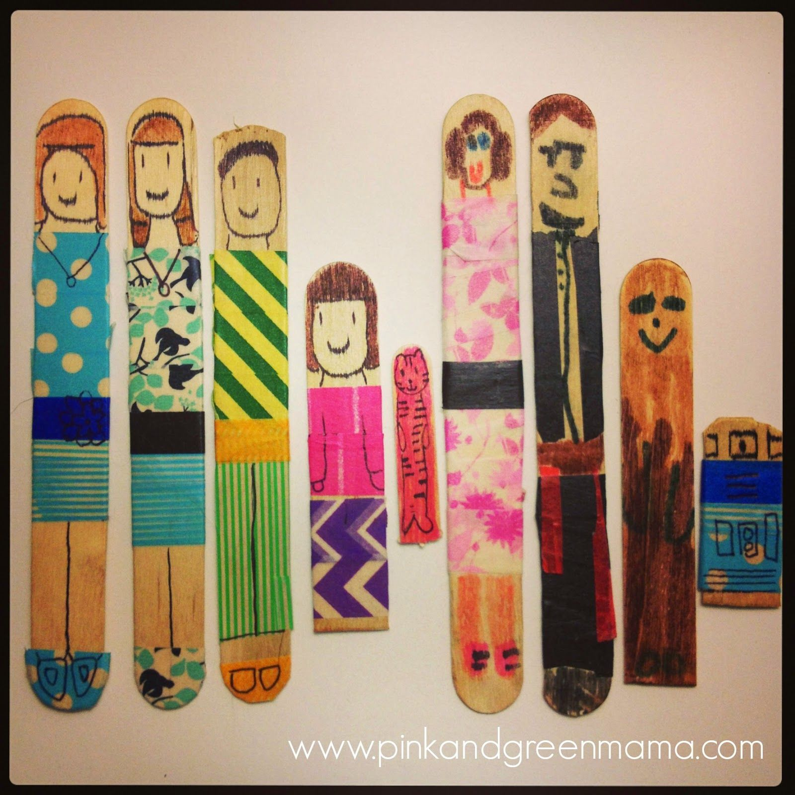 Making Popsicle Stick People And A Giveaway For The New