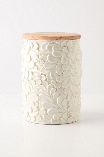 Verdant canister from Anthropologie. So pretty :)