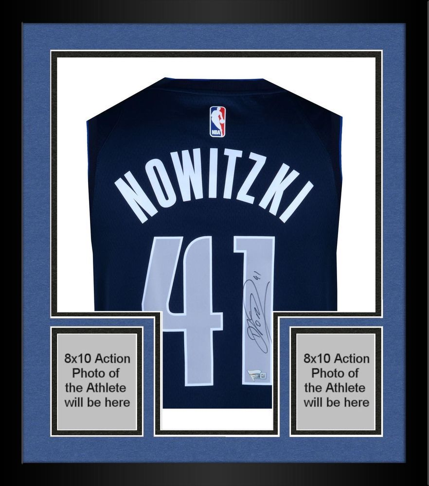 new style 6a2eb 931ee Autographed Dirk Nowitzki Mavericks Jersey Fanatics ...
