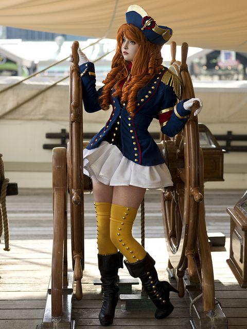 Captain by Anna Fischer at Otakon.