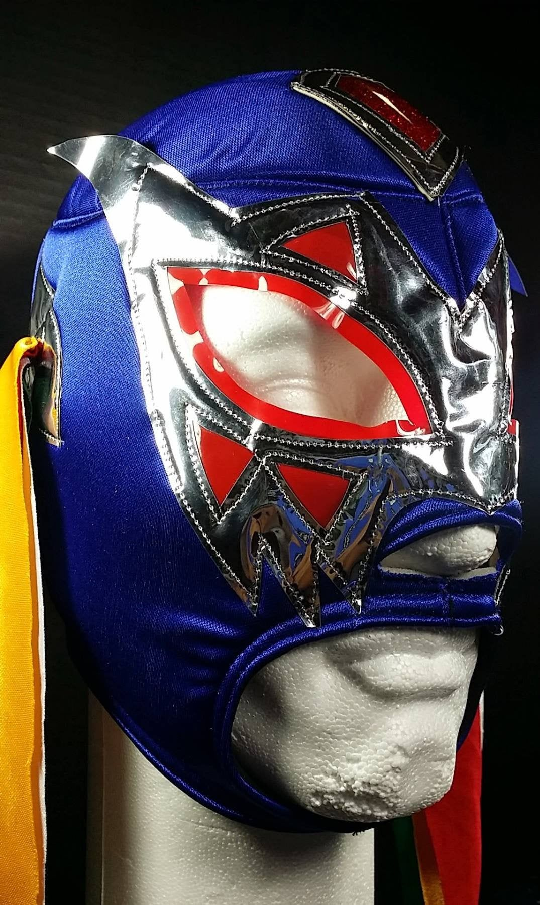 Adult kung fu Wrestler  mask Day of the dead luchador Mask nacho Libre luchador Mask Lucha Libre cheap mexican  wrestling Mask party