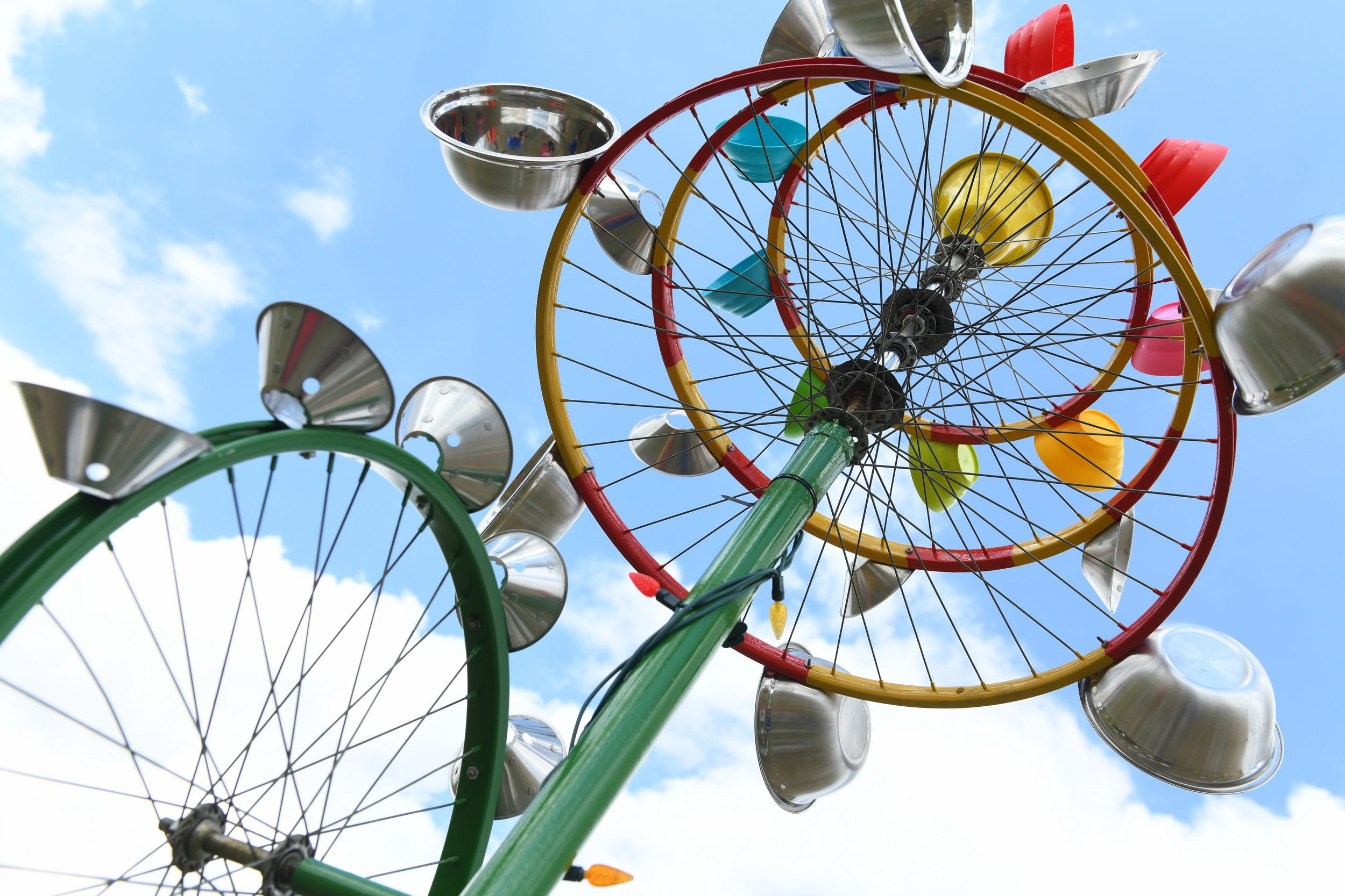 Kinetic Sculpture Submission At The Windscape Kite Festival In