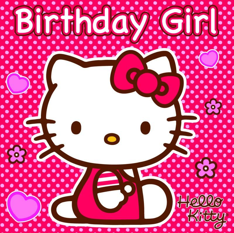 Happy 10th birthday megan to a precious spunky and happy little girl who i have a privilege - Hello kitty birthday images ...