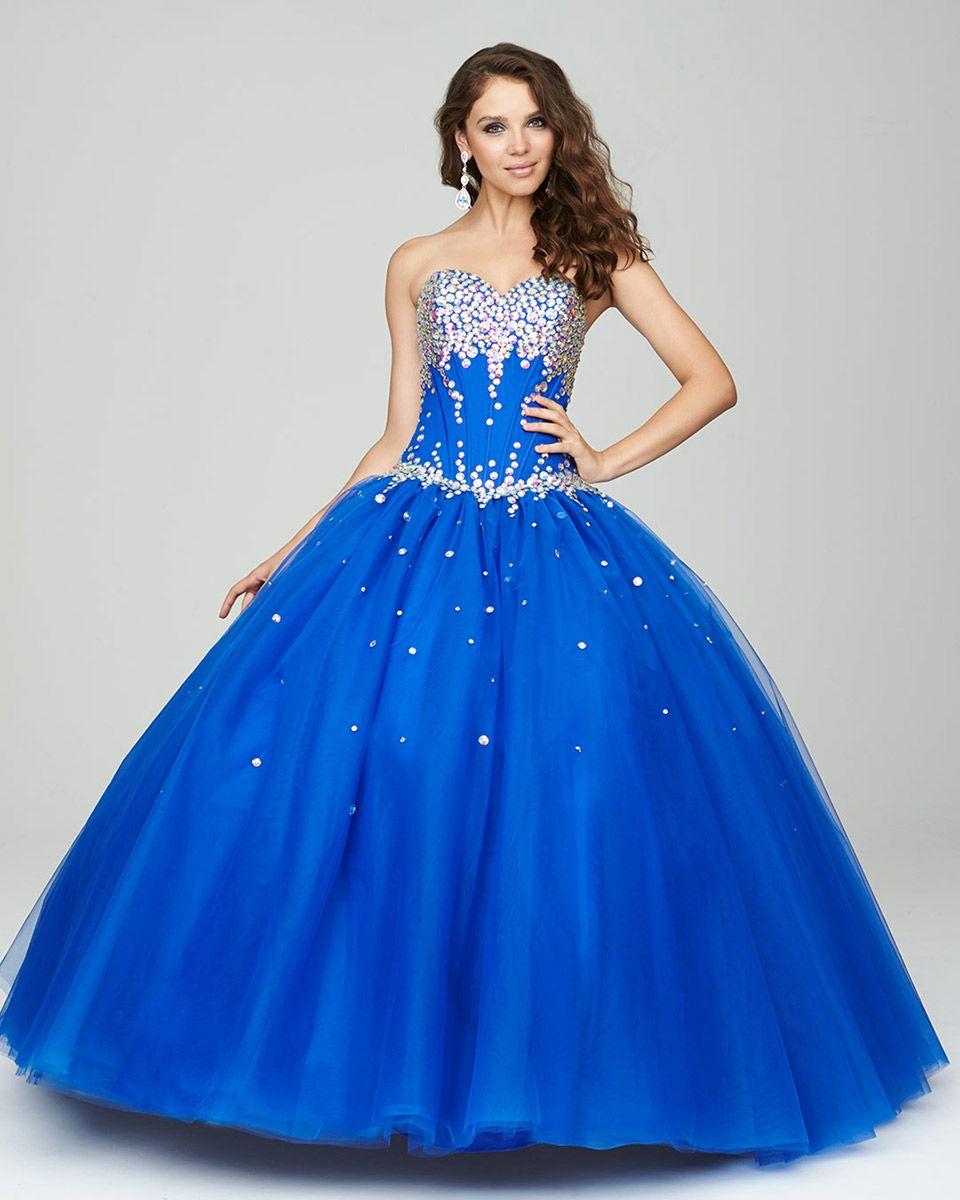 Vestidos De 15 Años Modernos Color Azul Turquesa