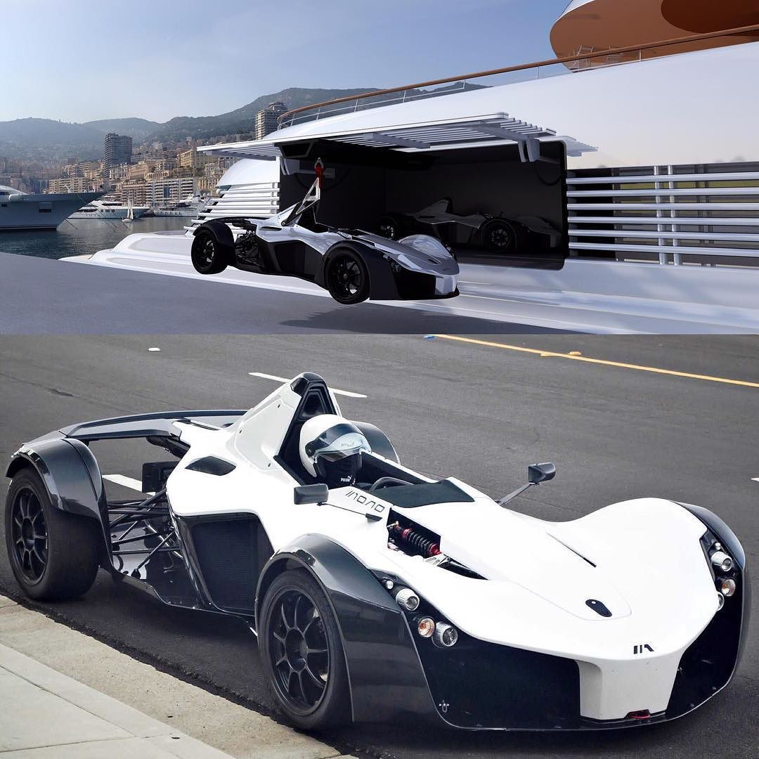 There you have #formula1 #power on your yacht #bacmono  by navalpartner