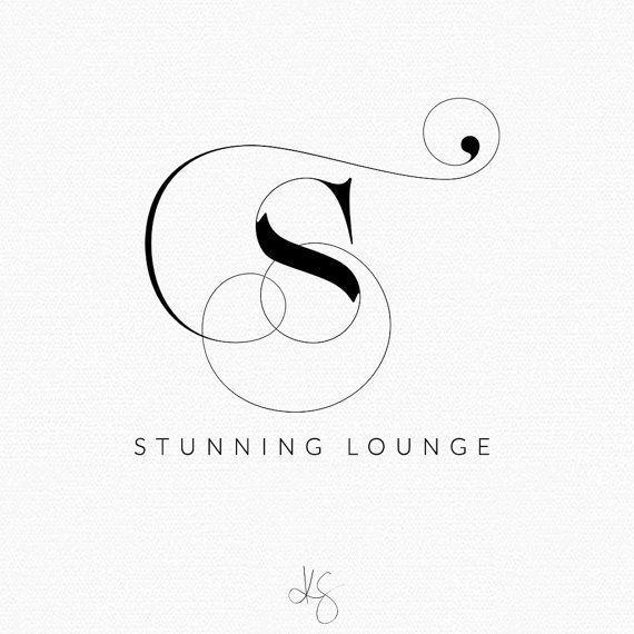 Logo Design Photography Blog Header Boutique Company Custom Monogram
