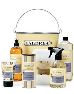Caldrea Cleaning Products Especially The Saffron Quince Scent