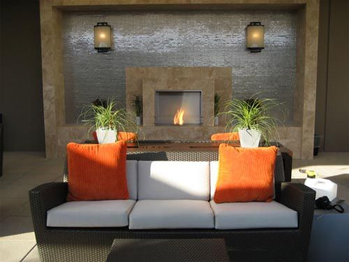 What Is That Fireplace Wall Made Of It's Foiltastic  Rooms I Pleasing Living Room Designs With Fireplace Design Inspiration
