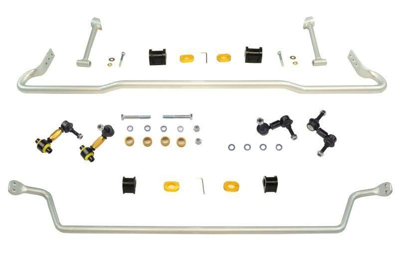 Whiteline Front And Rear 22mm Sway Bar Kit With Endlinks Subaru Wrx 08 14 Sti 08 14 Subaru Wrx Wrx Subaru Impreza