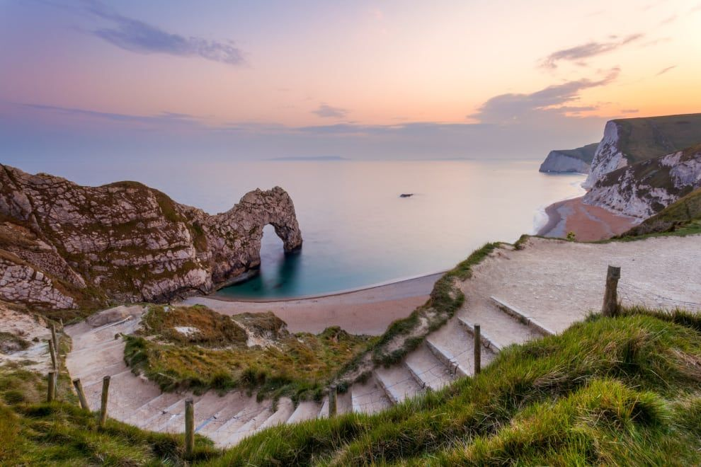 Durdle Door, where you can lose yourself in island paradise.