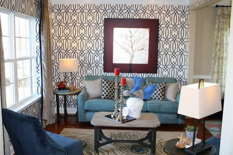 Wallpaper Living Room Ideas For Decorating  Living Room Impressive Wallpaper Living Room Ideas For Decorating Design Inspiration
