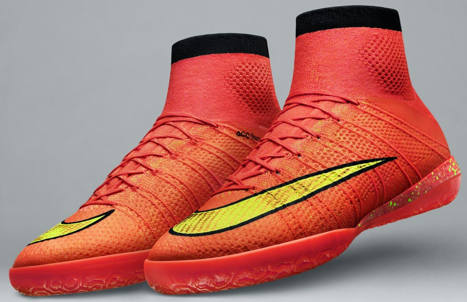 new product d7131 e4f6d ¡Nuevos botines Nike Elastico Superfly Flyknit!