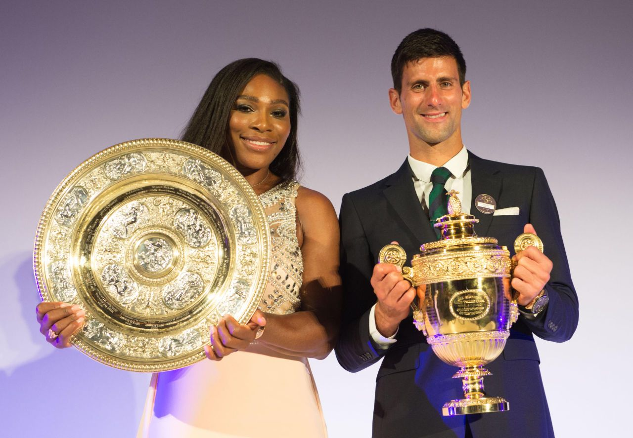 Wimbledon Waltz Serena Williams And Novak Djokovic Bring Back The Dance Of Champions Wimbledon Champions Serena Williams Photos Serena Williams