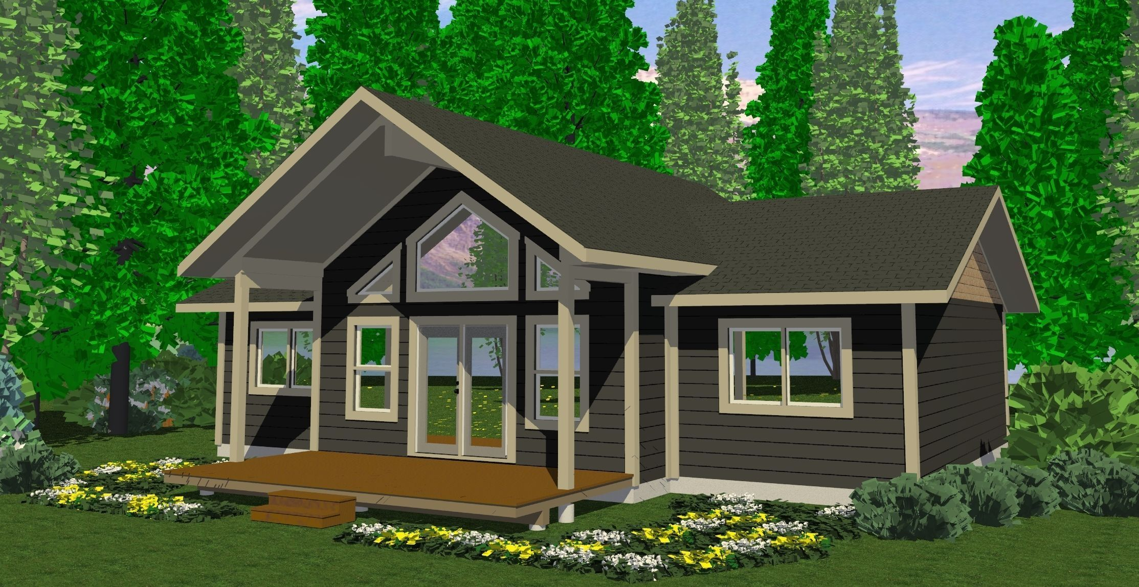 The Tabor Prefab Cabin and Cottage Plans