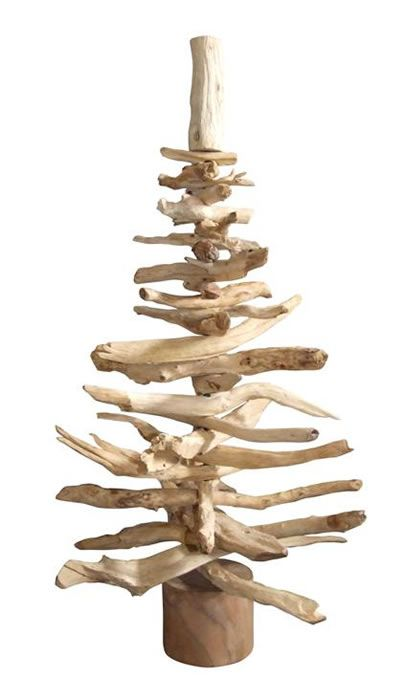 Driftwood christmas tree reminds me of grandma and her for Hanging driftwood christmas tree