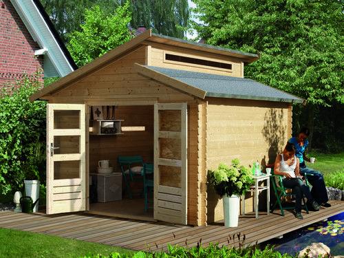 Karibu Gartenhaus Varmland 1 Backyard Structures Shed Design Backyard Kitchen