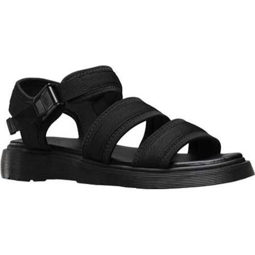 Dr. Martens Effra Tech 2 Strap Sandal Black Webbing/Neoprene |  Overstock.com Shopping - The Best Deals on Sandals