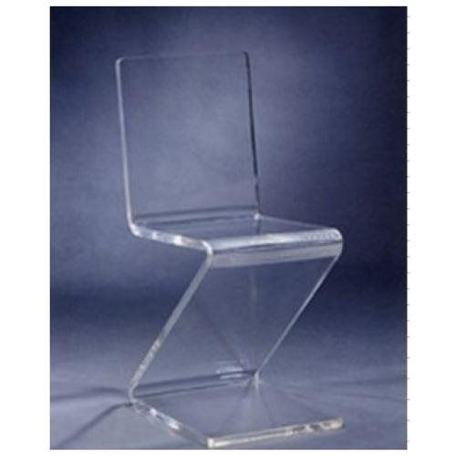 Beautiful Acrylic Plexiglass Lucite Z Chair! Best Price Online!