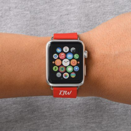 Diy Apple Watch Band Add Initials Initial Gift Idea Style