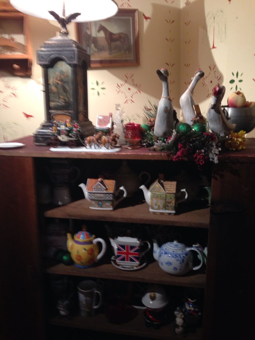 Tea Pots Galore